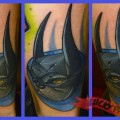 Bat Pug - Tattooed by Craig Foster at Skinwerks Tattoo