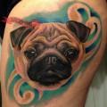 Tattooed by Alvaro Hernandez in Santiago, Chile