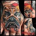 Tattooed by Bert Thomas of Skyn Yard, UK