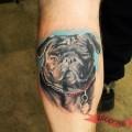 Harley the Pug - Tattooed by Shawn Milton of Inkredible Tattoo, Canada