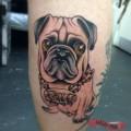 Love the Teeth! - Tattooed by James Dowthwaite of Doc Black Ink UK