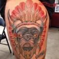 Maverick the Warrior Pug - on Joshua J from San Francisco, CA, USA