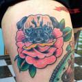 Artist: Alex Kass of Electric Panther Tattoo, Texas, USA