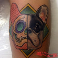 Sugar Skull Frenchie - Submitted by Wander Minini from Brazil