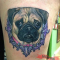 Artist - Tom Connors of Bound for Glory Tattoo, NY, USA