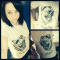 Pug Screams Tee (White)