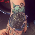 Let's be friends forever - Tattooed by Abbie Williams