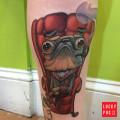 Artist: Scott Olive of Oddity Tattoo, FL, USA