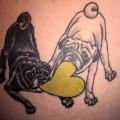 Artist: Heidi of Dark Age Tattoo, Seattle, WA