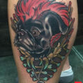 Rufio Pug Tattoo Nicholas Keiser
