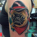 Arm Pug Tattoo by IG bryanjturnbull on Sierra Kemp