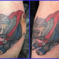 RIP Thor the pug - on Ang Toth, artist Erin Hosfield of Cyclops Tattoo PA