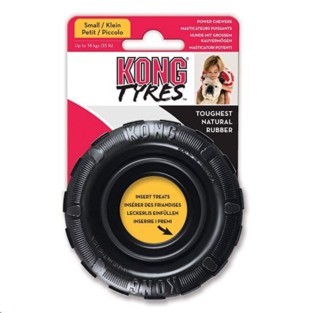 KONG-Traxx-Tyre Dog-Chew-Toy