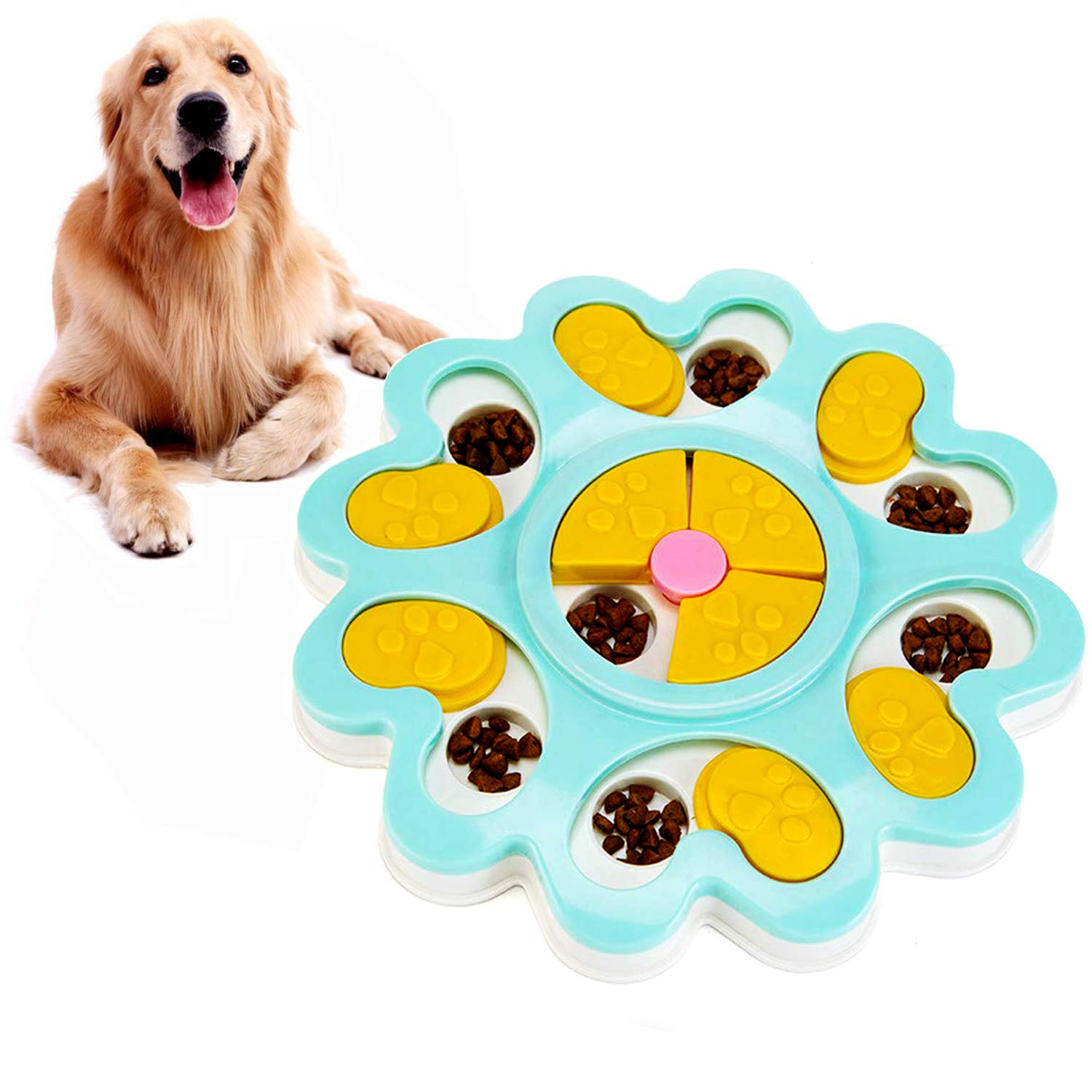 WINKE Dog Puzzle Feeder Toy Slow Feeder