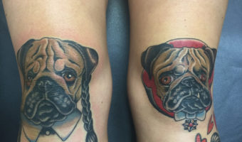 Wednesday Adams & Dracula Pug