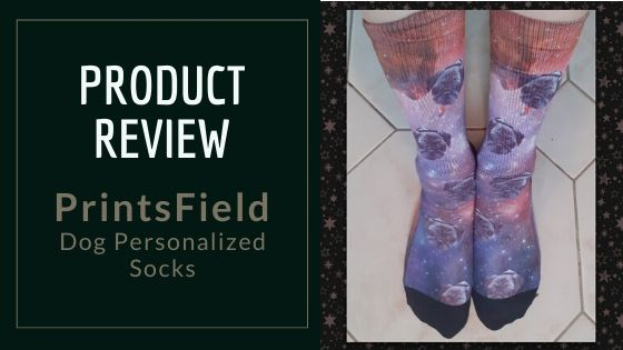 Product Review: PrintsField Dog Personalized Socks